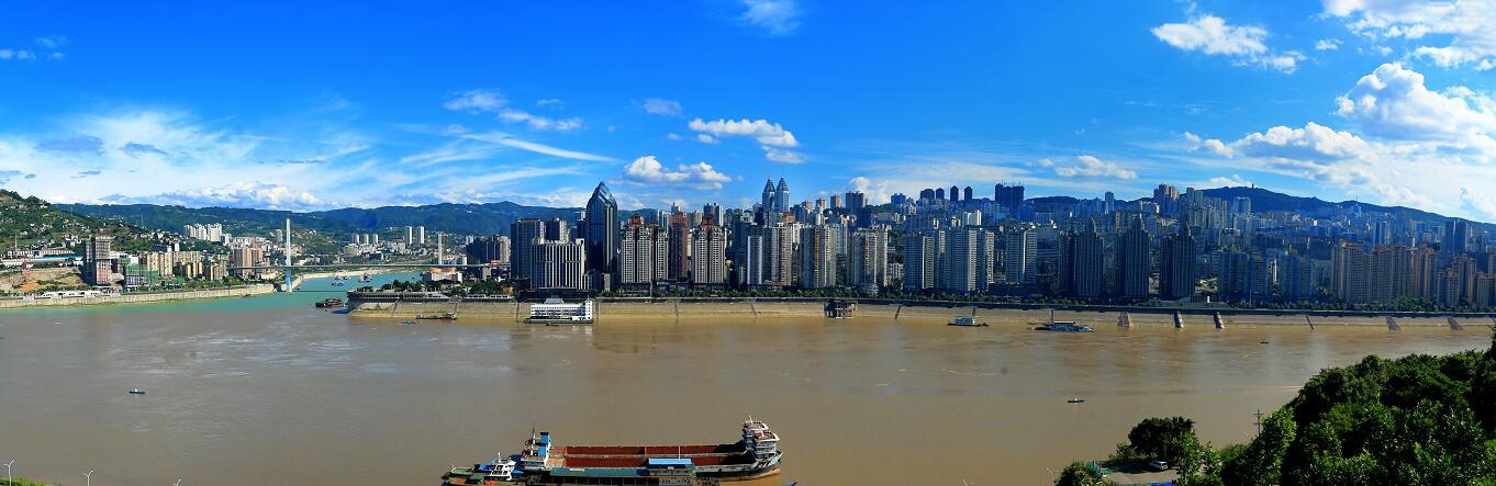 兩江全景圖
